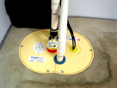 Sump Pump install by Jimmi The Plumber - TripleSafe Sump Pump System